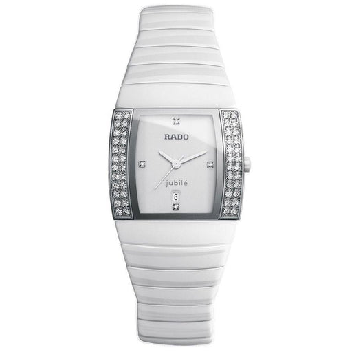Rado Women's R13830702 Sintra Jubile  White Ceramic Watch