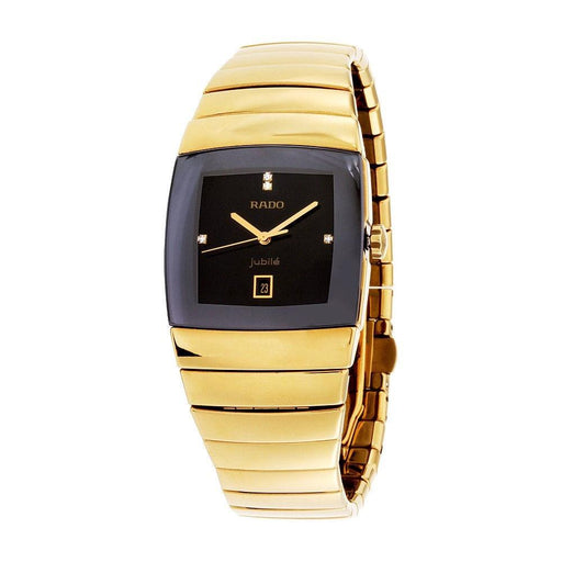 Rado Men's R13841712 Sintra Gold-Tone Ceramic Watch