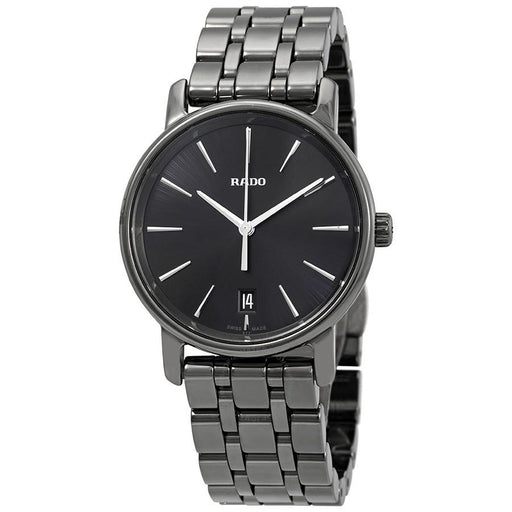 Rado Women's R14064177 Diamaster Black Ceramic Watch