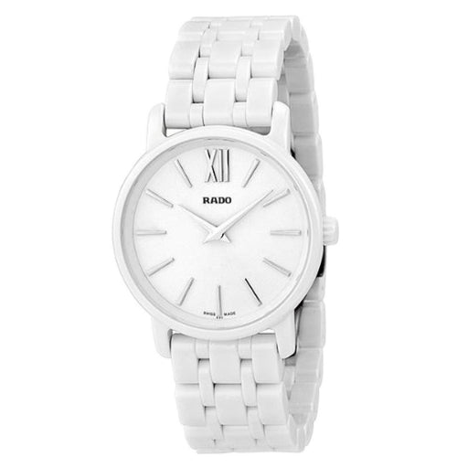 Rado Women's R14065017 Diamaster White Ceramic Watch