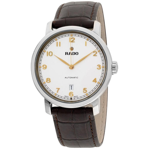 Rado Men's R14077136 Diamaster XL Brown Leather Watch