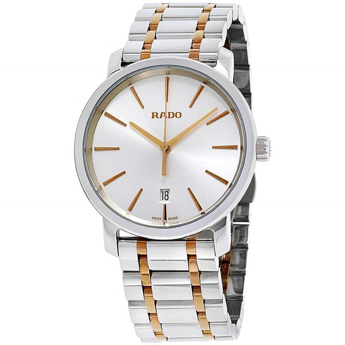 Rado Men's R14078103 Diamaster XXL Two-Tone Stainless Steel Watch