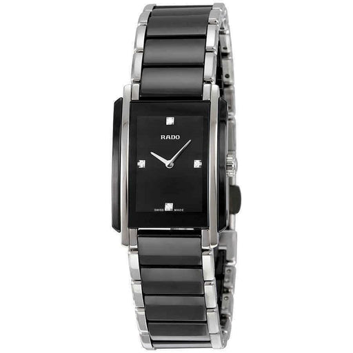 Rado Women's R20613712 Integral Two-Tone Ceramic and Stainless Steel Watch