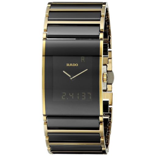 e86a4a7c75f Rado Men s R20799152 Integral Analog-Digital Two-Tone Stainless steel and  Ceramic Watch