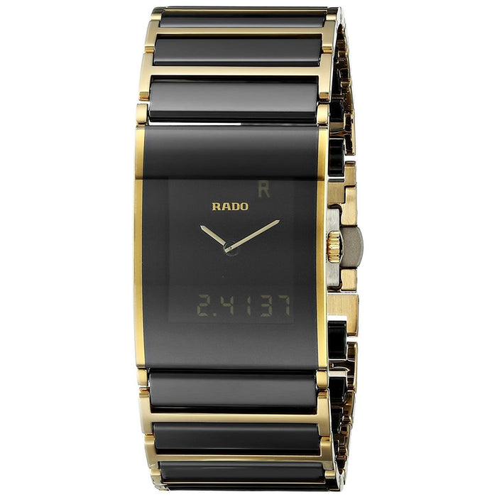 Rado Men's R20799152 Integral Analog-Digital Two-Tone Stainless steel and Ceramic Watch