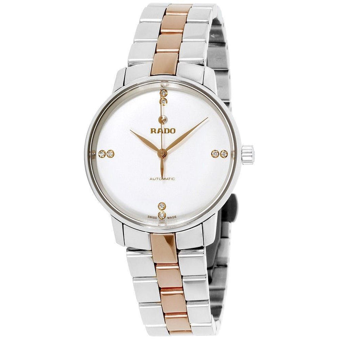 Rado Women's R22862722 Coupole Classic Two-Tone Stainless Steel Watch