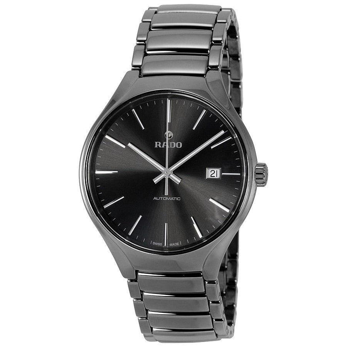 Rado Men's R27057102 True Plasma Automatic Black Ceramic Watch