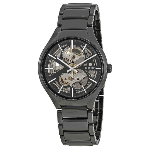 Rado Men's R27100112 TRUE Skeleton Black High-Tech Ceramic Watch