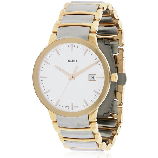 Rado Men's R30554103 Centrix Two-Tone Stainless Steel Watch