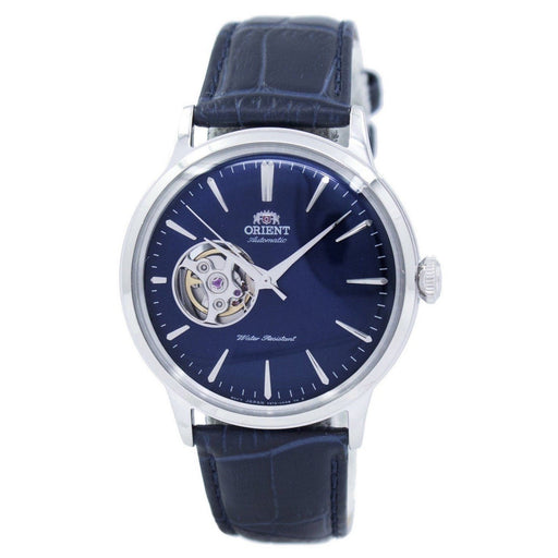 Orient Men's RA-AG0005L10B Esteem II Automatic Blue Leather Watch