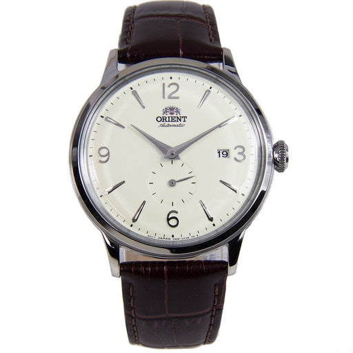 Orient Men's RA-AP0003S Bambino Hand Wind Brown Leather Watch