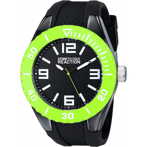 Kenneth Cole Men's RK1339 Reaction Black Rubber Watch