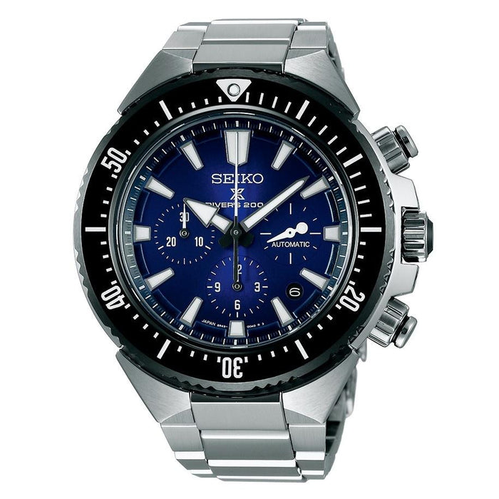 Seiko Men's SBEC003 Prospex Chronograph Automatic Stainless Steel Watch