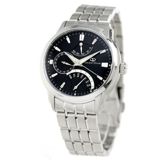 Orient Men's SDE00002B0 Star Retrograde Multi-Function Automatic Stainless Steel Watch