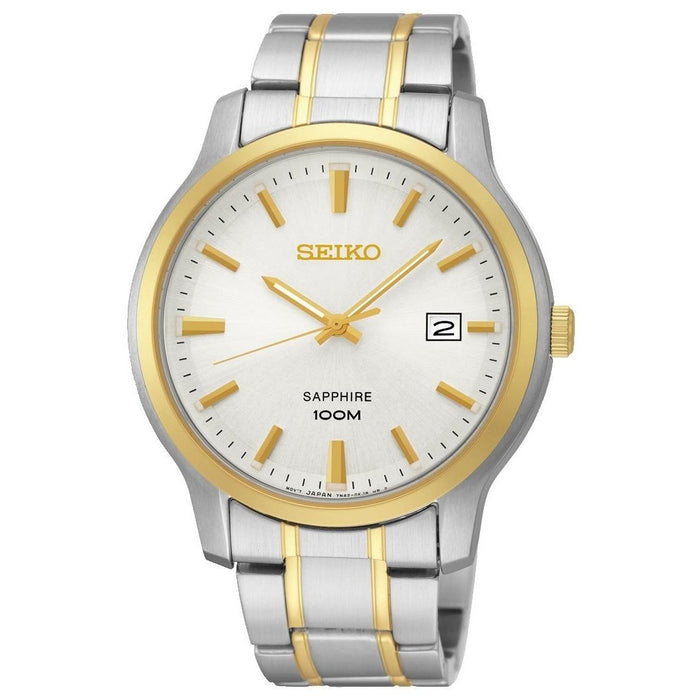 Seiko Men's SGEH42 Neo Two-Tone Stainless Steel Watch