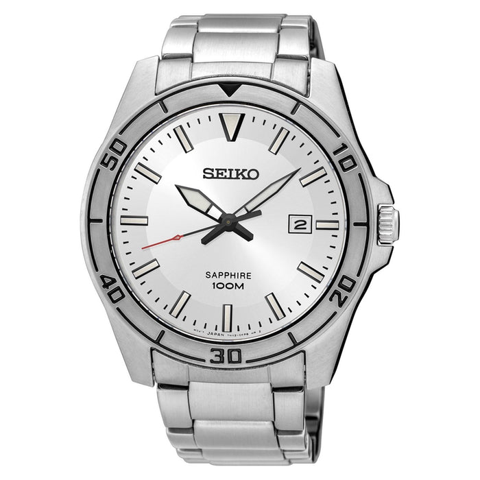 Seiko Men's SGEH59 Sapphire Stainless Steel Watch