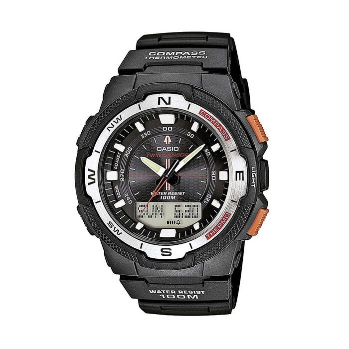 Casio Men's SGW500H-1B Outgear Analog-Digital Black Resin Watch