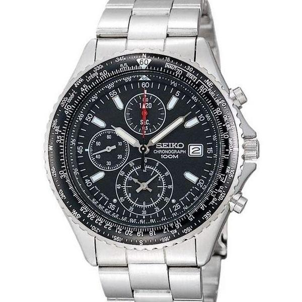 Seiko Men's SND253 Chronograph Chronograph Stainless Steel Watch