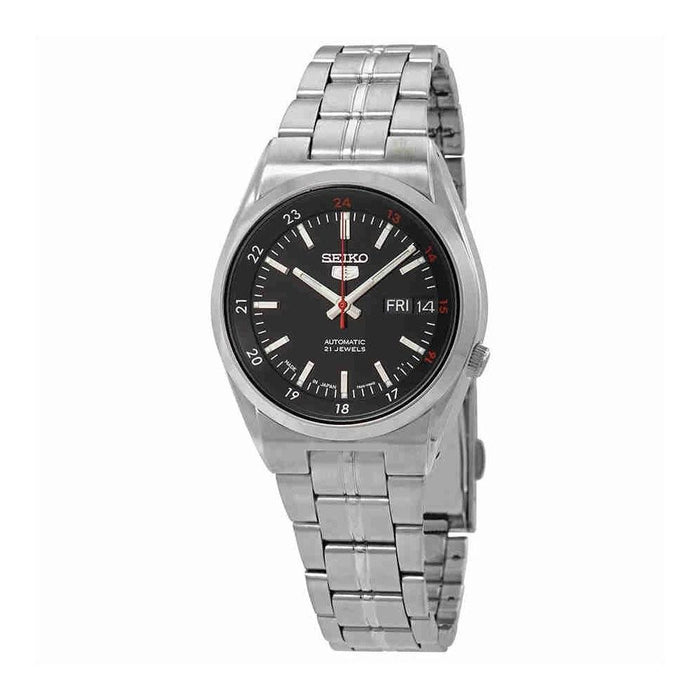 Seiko Men's SNK571J1 Series 5 Stainless Steel Watch