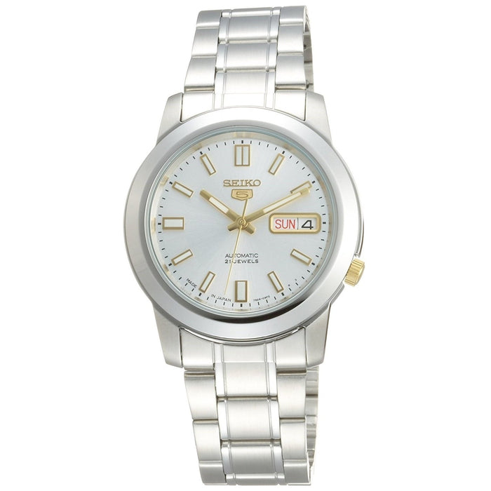 Seiko Men's SNKK09J1 5 Automatic Stainless Steel Watch