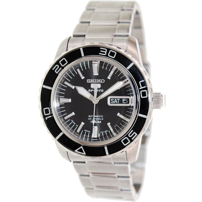 Seiko Men's SNZH55 5 Automatic Stainless Steel Watch