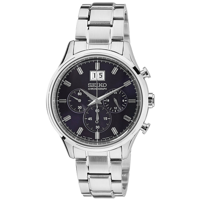 Seiko Men's SPC081 Chronograph Stainless Steel Watch