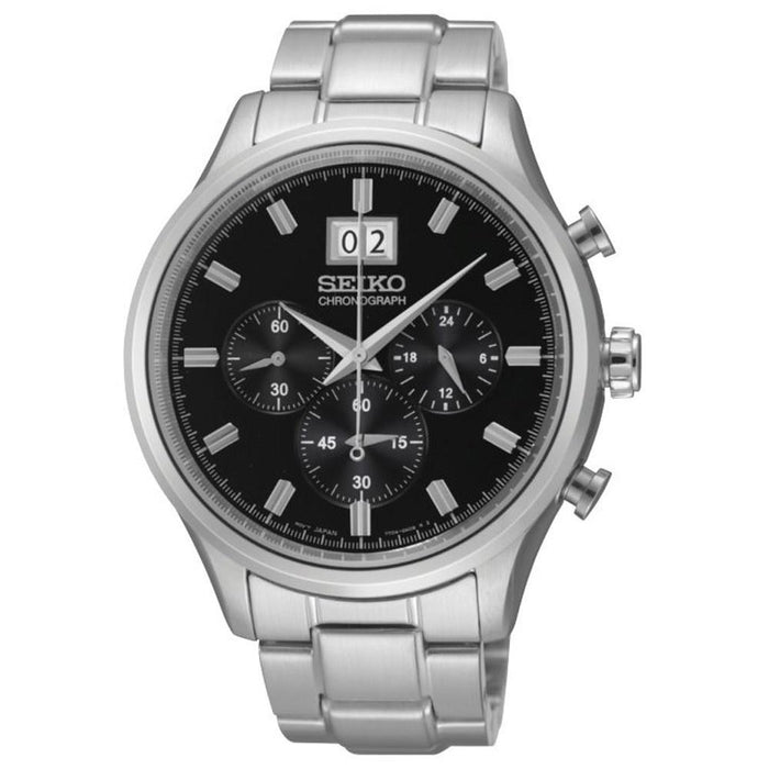 Seiko Men's SPC083 Chronograph Stainless Steel Watch