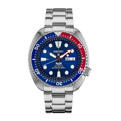Seiko Men's SRPA21 Prospex PADI Stainless Steel Watch