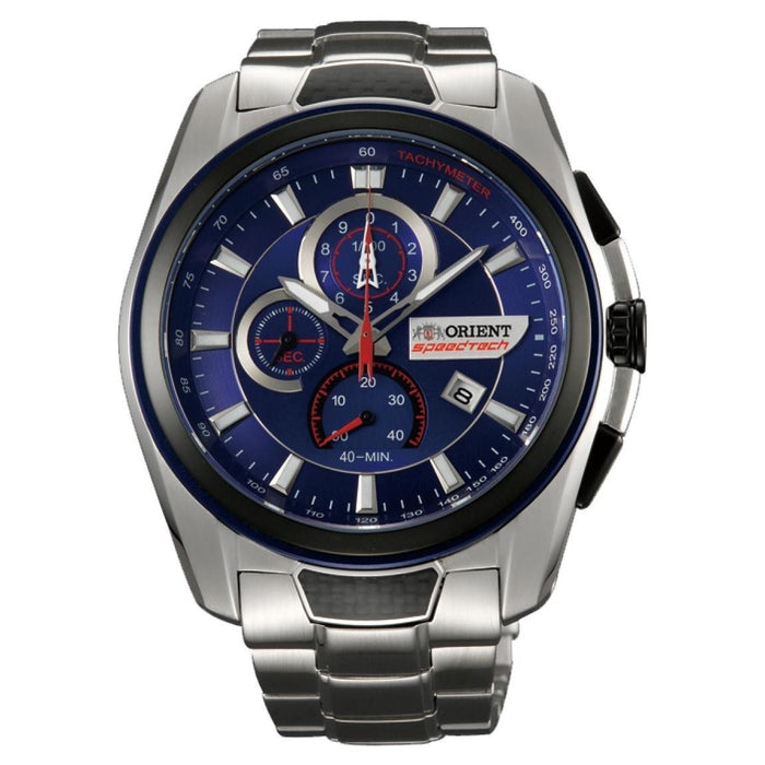 Orient Men's STZ00001D0 Speedtech Chronograph Stainless Steel Watch