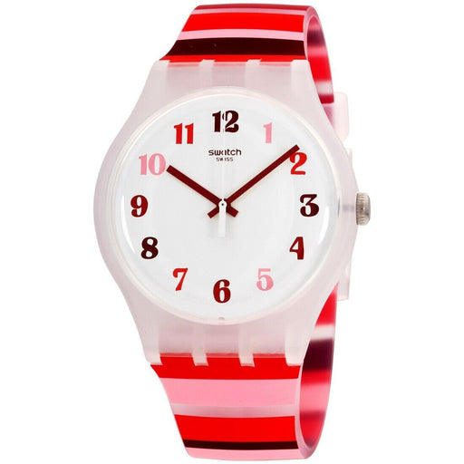 Swatch Men's SUOK138 Tramonto Occaso Multicolored Silicone Watch