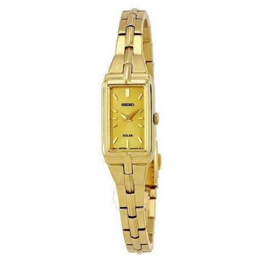 Seiko Women's SUP276 Seiko Gold-Tone Stainless Steel Watch