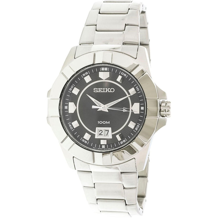 Seiko Men's SUR129 Lord Stainless Steel Watch