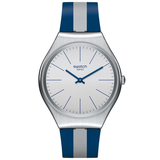 Swatch Men's SYXS107 Skinspring Two-Tone Silicone Watch