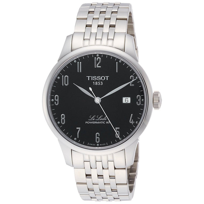 Tissot Men's T0064071105200 Le Locle Powermatic 80 Automatic Stainless Steel Watch