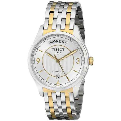 Tissot Men's T0384302203700 T-One Automatic Two-Tone Stainless Steel Watch