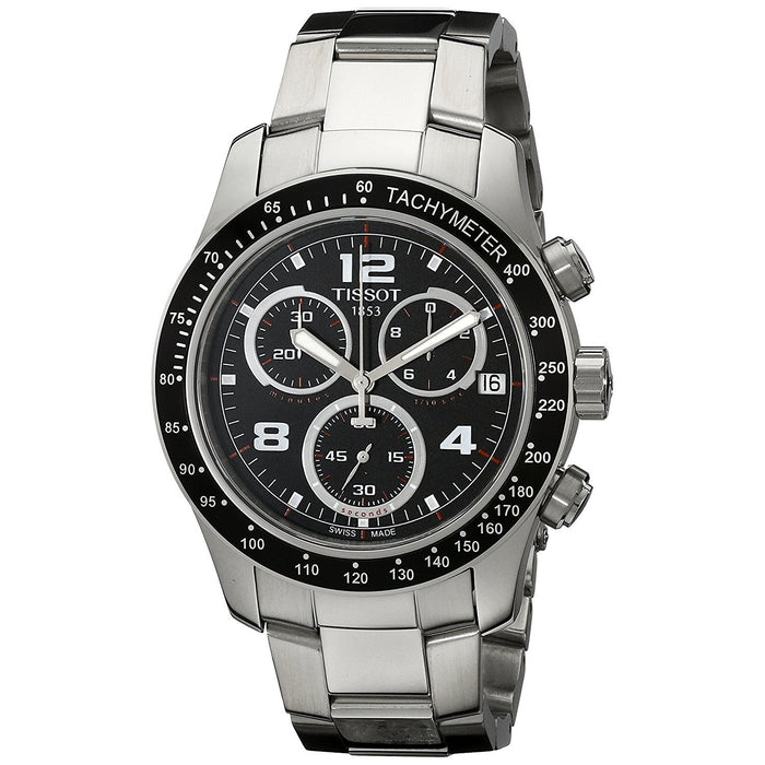Tissot Men's T0394171105702 V8 Chronograph Stainless Steel Watch