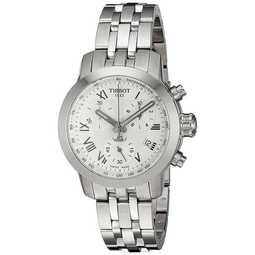 Tissot Women's T0552171103300 PRC 200 Chronograph Stainless Steel Watch