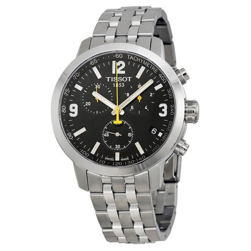 Tissot Men's T0554171105700 PRC200 Chronograph Stainless Steel Watch