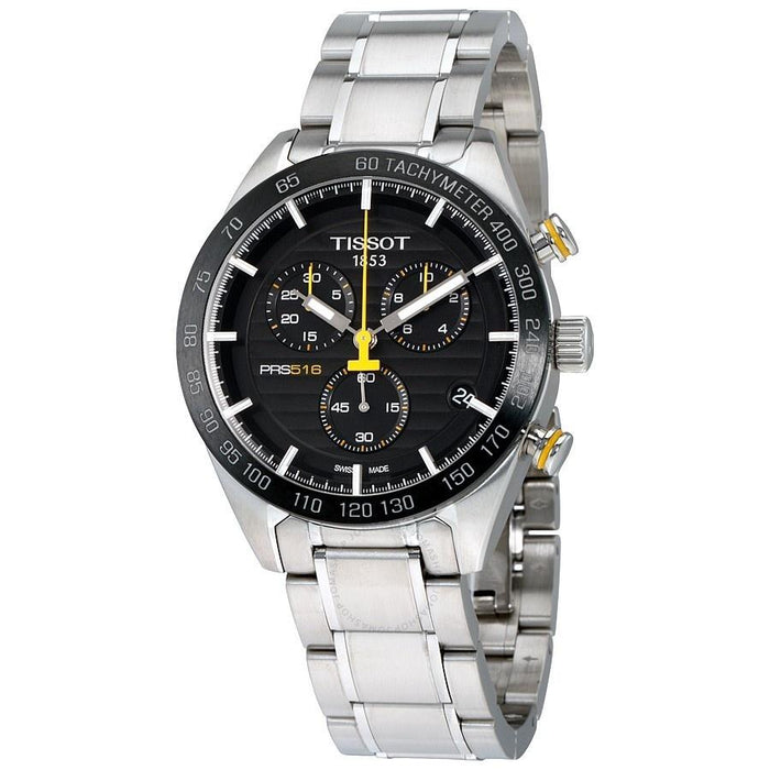 Tissot Men's T1004171105100 PRS 516 Chronograph Stainless Steel Watch
