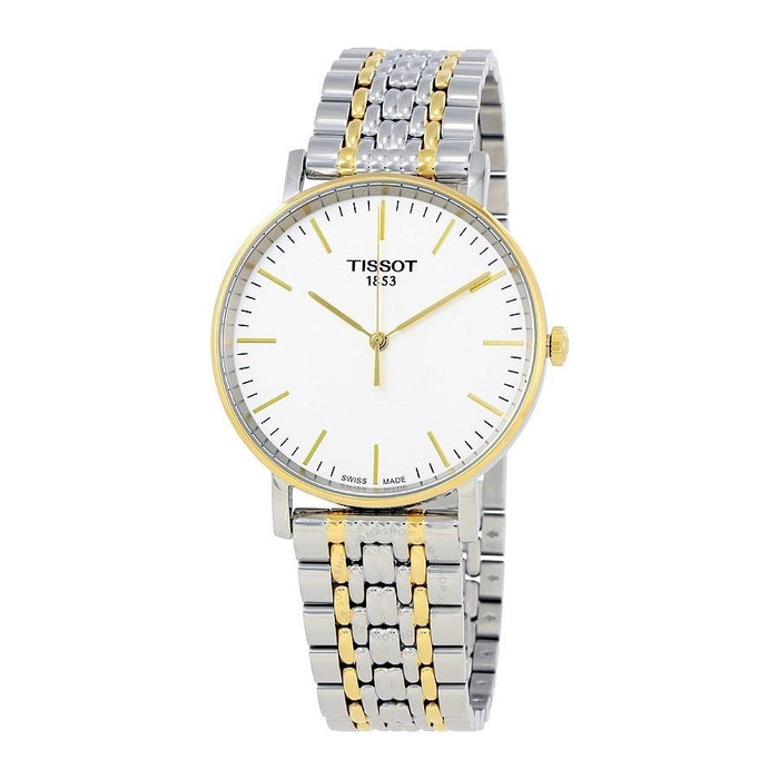 Tissot Men's T1094102203100 T-Classic Everytime Two-Tone Stainless Steel Watch