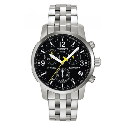 Tissot Men's T17158652 PRC 200 Chronograph Stainless Steel Watch