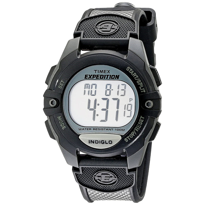 Timex Men's T40941 Expedition Black Silicone Watch
