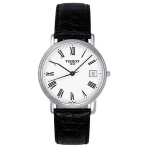 Tissot Women's T52112113 Desire Black Leather Watch