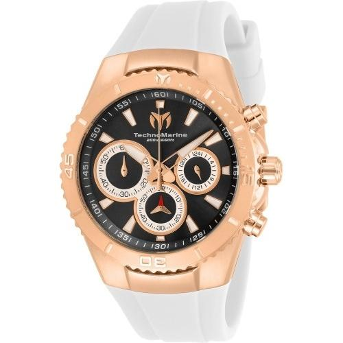 TechnoMarine Women's TM-218042 White Silicone Watch