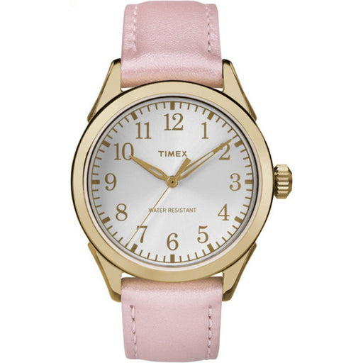 Timex Women's TW2P99100 Briarwood Terrace Pink Leather Watch
