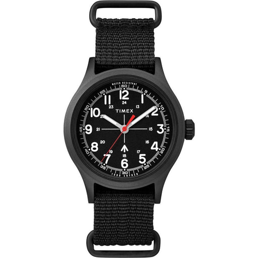 Timex Men's TW2R78600VQ x Todd Snyder Military Black Nylon Watch