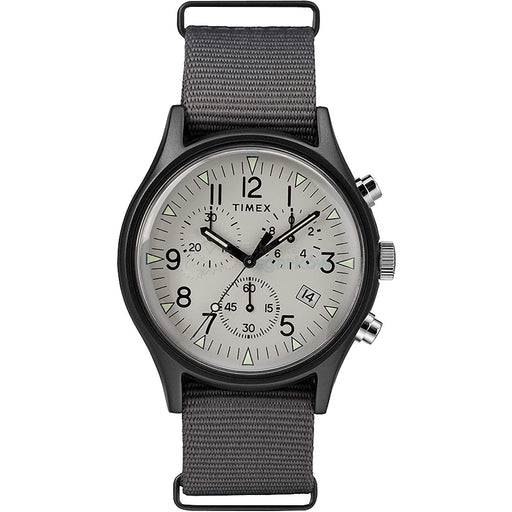 Timex Men's TW2T10900VQ MK1 Chronograph Grey Nylon Watch