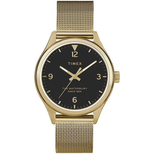 Timex Women's TW2T36400VQ Waterbury Gold-Tone Stainless Steel Watch