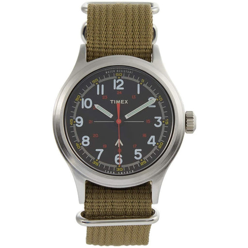 Timex Men's TW4B058007S Todd Snyder The Military Green Nylon Watch