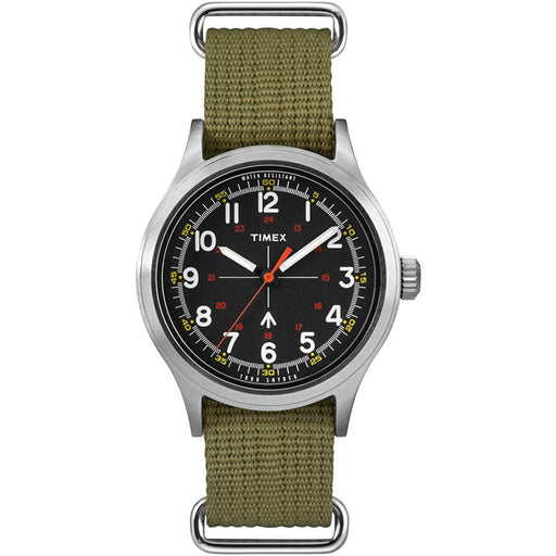 Timex Men's TW4B05800VQ x Todd Snyder Military Green Nylon Watch